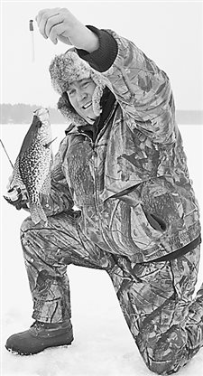 Lakes have enough ice for those panfish anglers