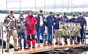 FIFTH ANNUAL WOUNDED WARRIORS MUSKIE EVENT HELD ON EAGLE CHAIN