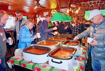 OVER 150 PEOPLE ATTEND CHILI COOK-OFF