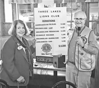 Lions donate